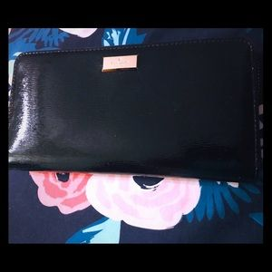 Patten leather Kate Spade wallet